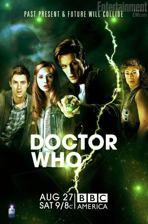 Постер 2 части 6 сезона Доктора Кто