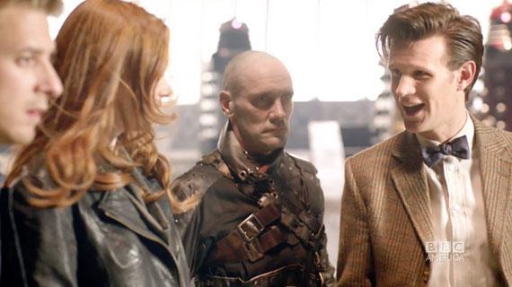 Эми и Доктор в новом трейлере 7 сезона
