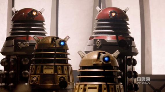 Далеки из эпизода Asylum of the Daleks