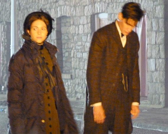 Фрагмен из съемок 7 сезона Доктора Кто