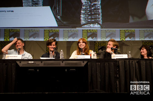 Пресс-конференция с актерами сериала «Доктор Кто» на фестивале Comic-Con