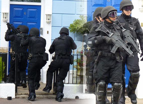 Съемки 7 сезона Доктора Кто: отряд UNIT штурмует дом Пондов